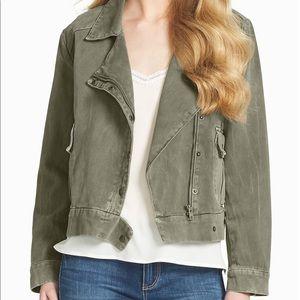 Jessica Simpson Keia Military jacket